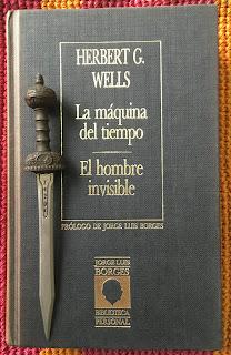 Portada del libro La máquina del tiempo, de H. G. Wells