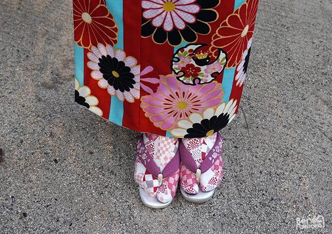 Kimono et tabi