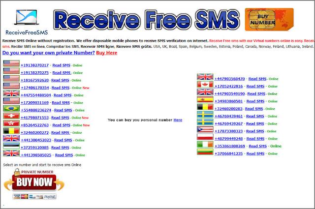 5 website nhận sms free online receive | Tải phần mềm miễn phí