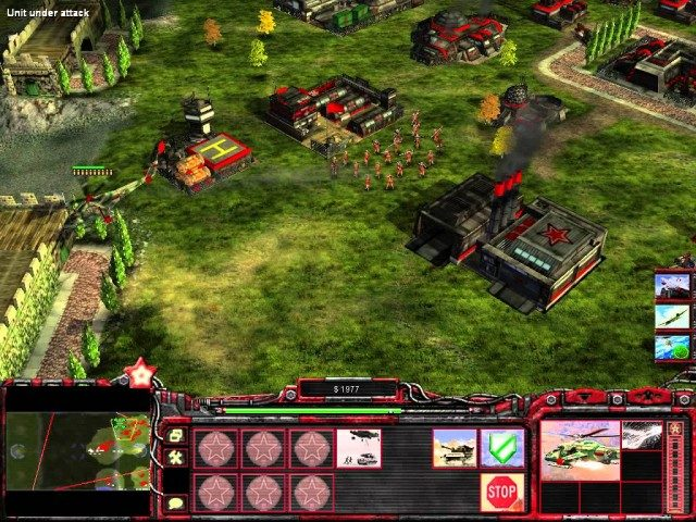 Command and Conquer Generals Rise of The Red Free Download Screenshot 1