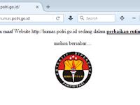Mohon maaf Website http://humas.polri.go.id sedang dalam perbaikan rutin database mohon bersabar....