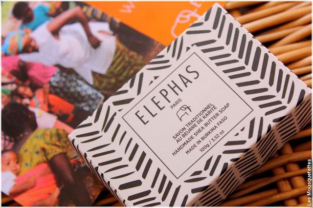 Fabriqué au Burkina Faso, Elephas, savon au beurre de karité pur - Blog beauté
