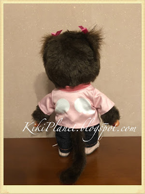 kiki monchhichi vêtement t-shirt plus secret
