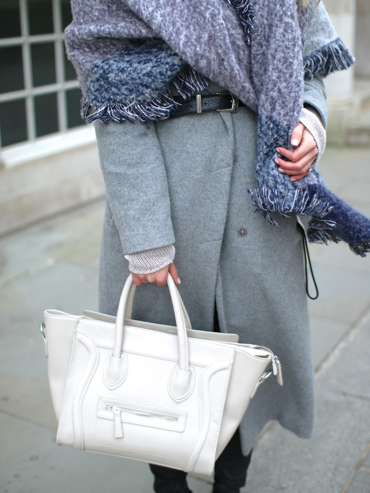 neutral celine handbag
