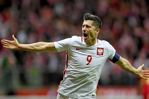 Lewandowski cầu thủ ghi lại dấu ấn trong các trận đấu