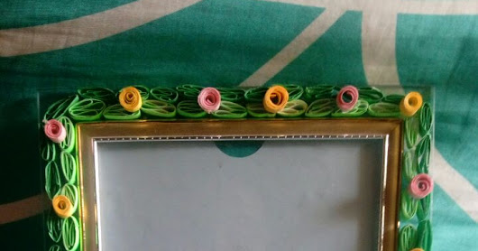 Quilled Photo-Frame