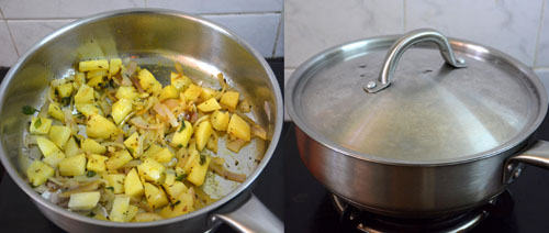 how to make avarakkai potato curry