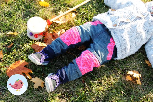 Naehklimbim - Herbstliche Mädchenjeans - Steppo von Textilsucht