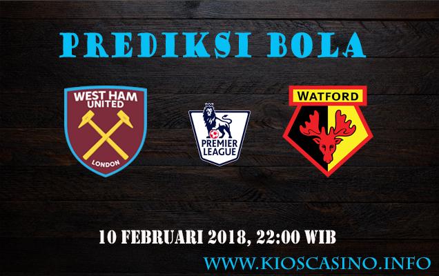 Prediksi West Ham vs Watford 10 Februari 2018