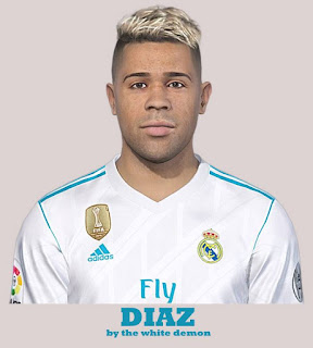 PES 2019 Faces Mariano Díaz by The White Demon