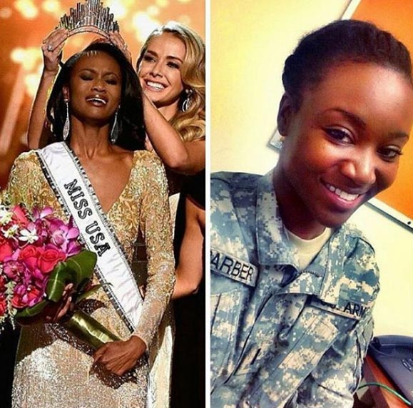 Female soldier crowned Miss USA 2016