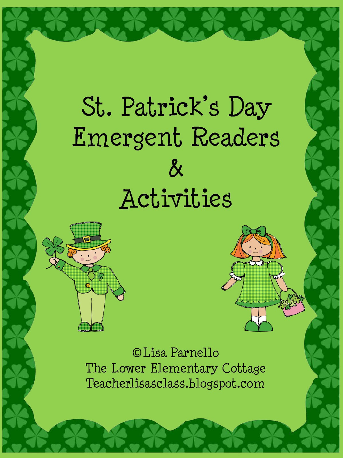 The Lower Elementary Cottage St Patrick S Day Readers
