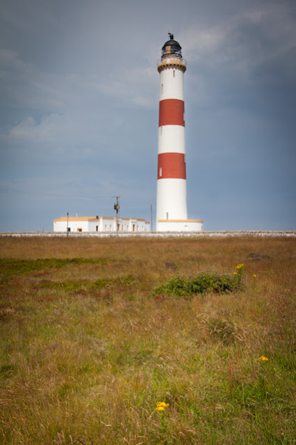 Portmahomack lighthouse (faro)