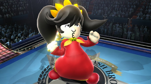 Ashley great witch WarioWare Mii manly transgender transsexual male genderbend Super Smash Bros. For Wii U