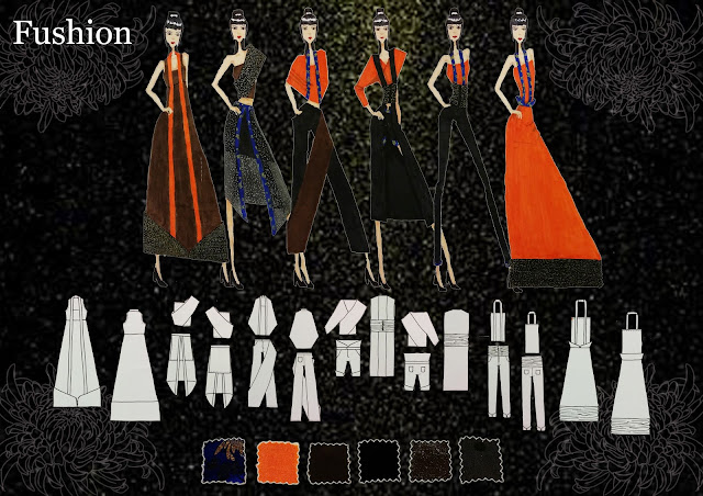 This is the compilation of fashion design entry 1 to 6 for the Audi Star Creation Competition 2014