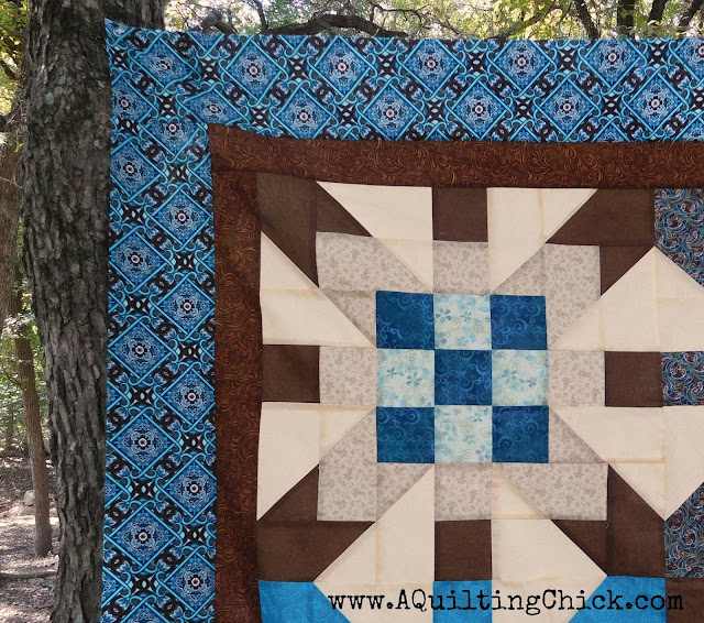 A Quilting Chick - Supernova Block