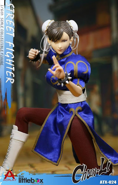 osw.zone Check out AC PLAY ATX024 1/6th scale Streetfighter: CHUN LI 12-inch Collectible Figure