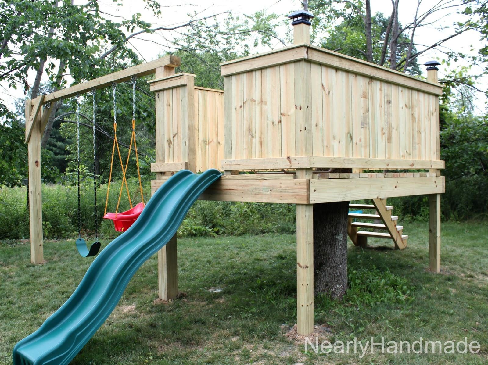 Handmade Tree Stump Tic Tac Toe Making Wood Porch Swing