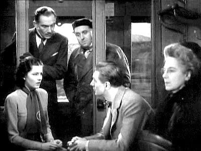 immagine dal film La signora scompare (1938)