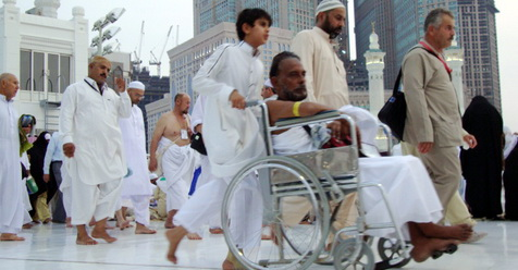 Wakasektor Masjidil Haram: Jamaah Haji Jangan Pakai Joki Kursi Roda Dari Mukimin