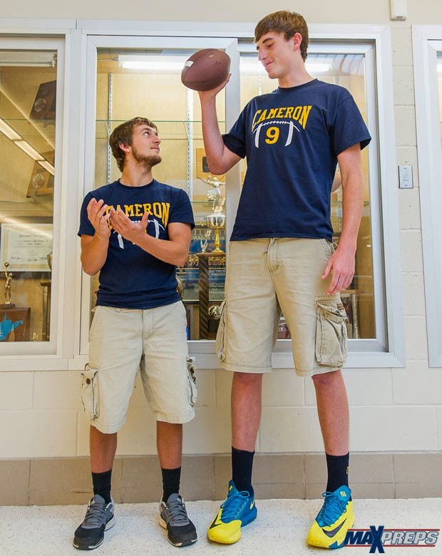 the other paper at 6 foot 11 logan routt is the tallest quarterback ever video. Black Bedroom Furniture Sets. Home Design Ideas