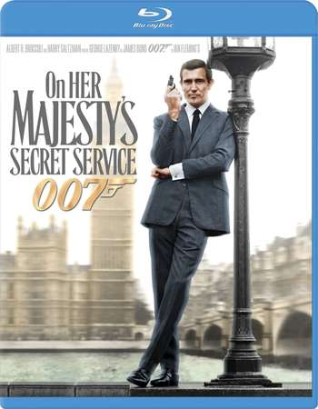 Poster Of James Bond On Her Majesty's Secret Service 1969 Dual Audio 720p BRRip Free Download Watch Online