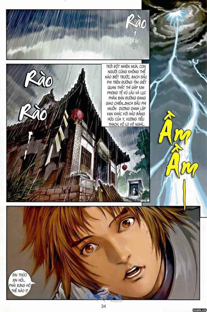 Ôn Thụy An Quần Hiệp Truyện chap 2 trang 30
