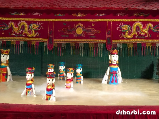 Water Puppet Theatre di Ho Chi Minh memang best