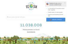Ecosia: buscador de internet ecológico que planta árboles con la ayuda de los usuarios