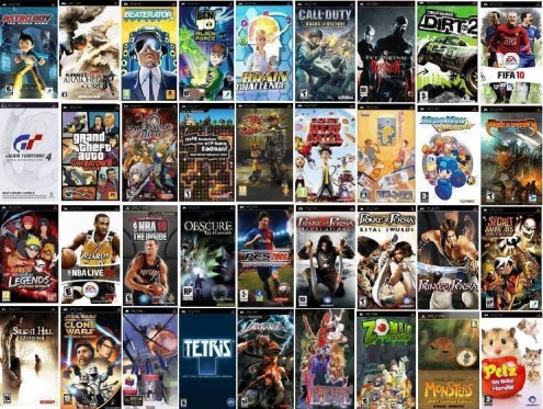 FREE DOWNLOAD: ALL PSP GAMES LIST