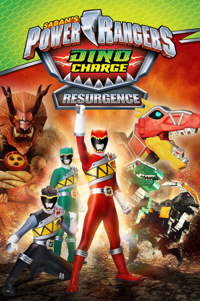 Power Rangers Dino Charge: Resurgence [2016] [DVDR] [NTSC] [Latino]