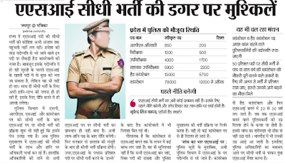 Rajasthan Police Constable Recruitment 2015