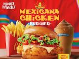 McDonald's Malaysia perkenal Burger Ayam Mexicana sebagai menu kedua untuk Kempen Discover the World.     Turut melancarkan Pai Kastard Strawberi baharu