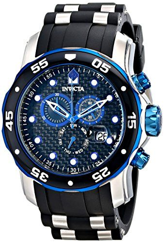 invicta blue watch