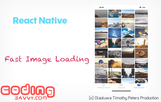 Quick and Fast Image Loading on Android and iOS with React