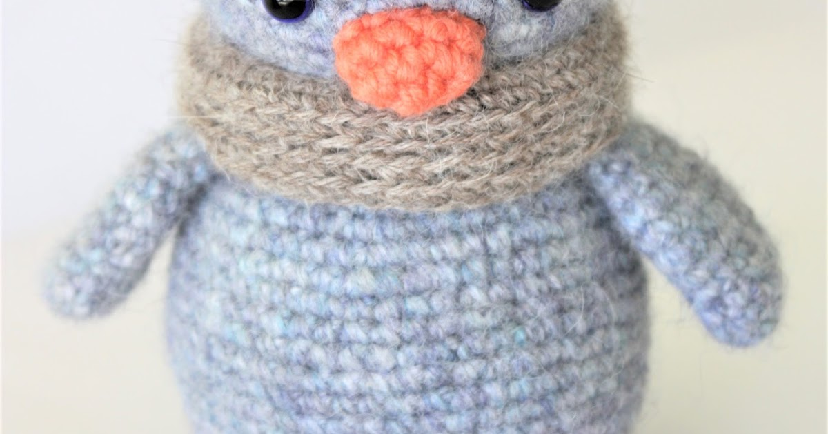 Amigurumi Pattern Maker : HAPPYAMIGURUMI: Arnold the Penguin - New Amigurumi Crochet ...