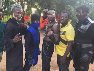 MK movie - Mortal Kombat film ghanese