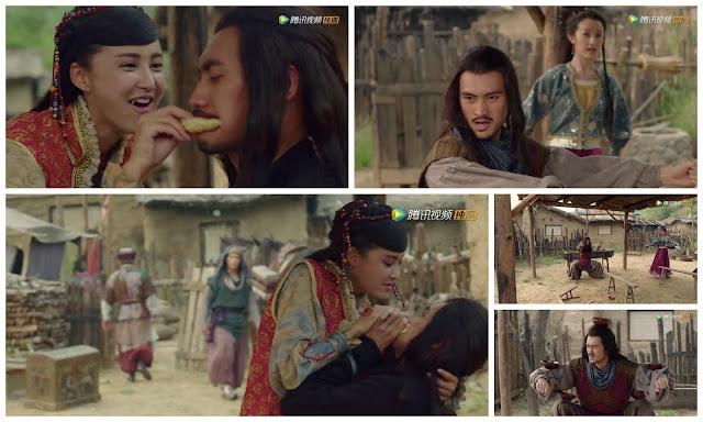 Yuan Hong and Zhang Xinyi in Princess Jieyou