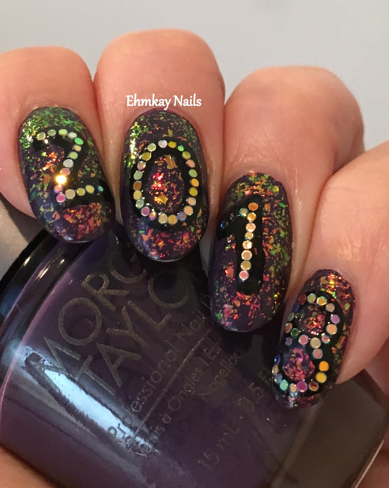 Ehmkay Nails: Welcome To 2018 Nail Art
