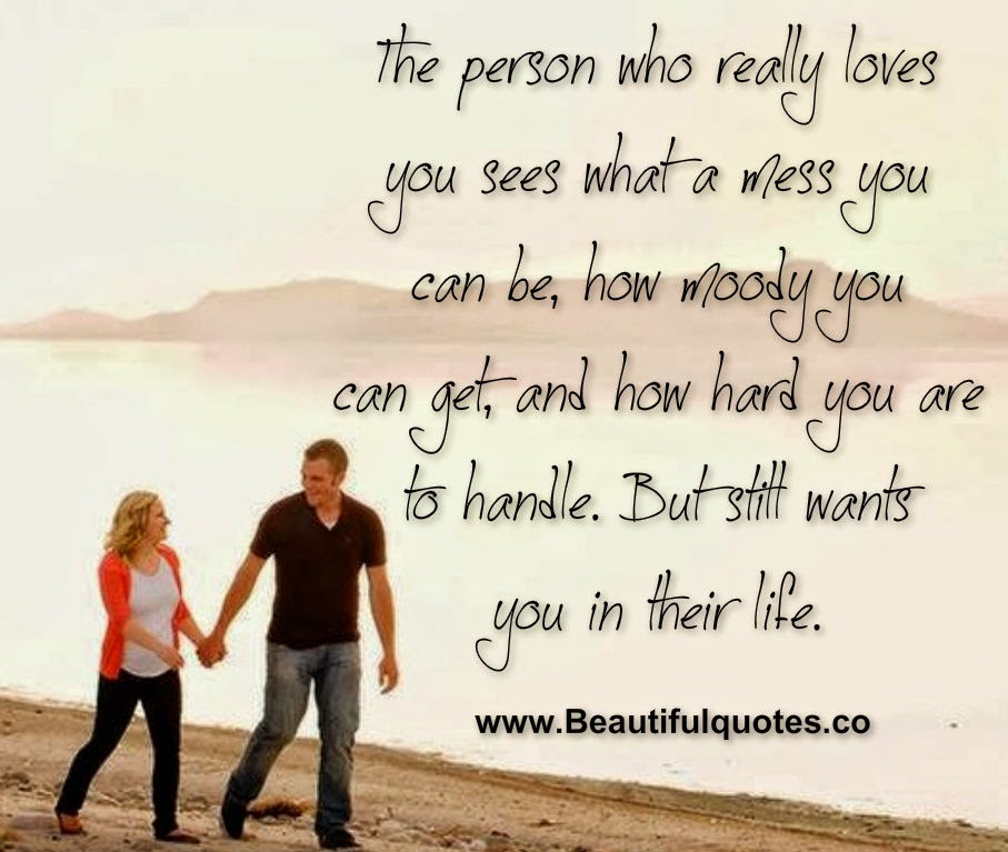 The Person Who Really Loves You