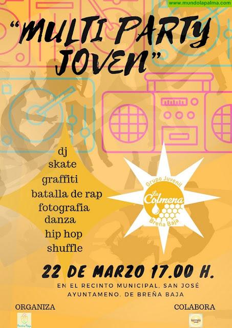 """FIESTA DE SAN JOSÉ 2019: """"Multi Party Joven"""""""