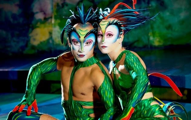 Cirque Du Soleil shows in Las Vegas