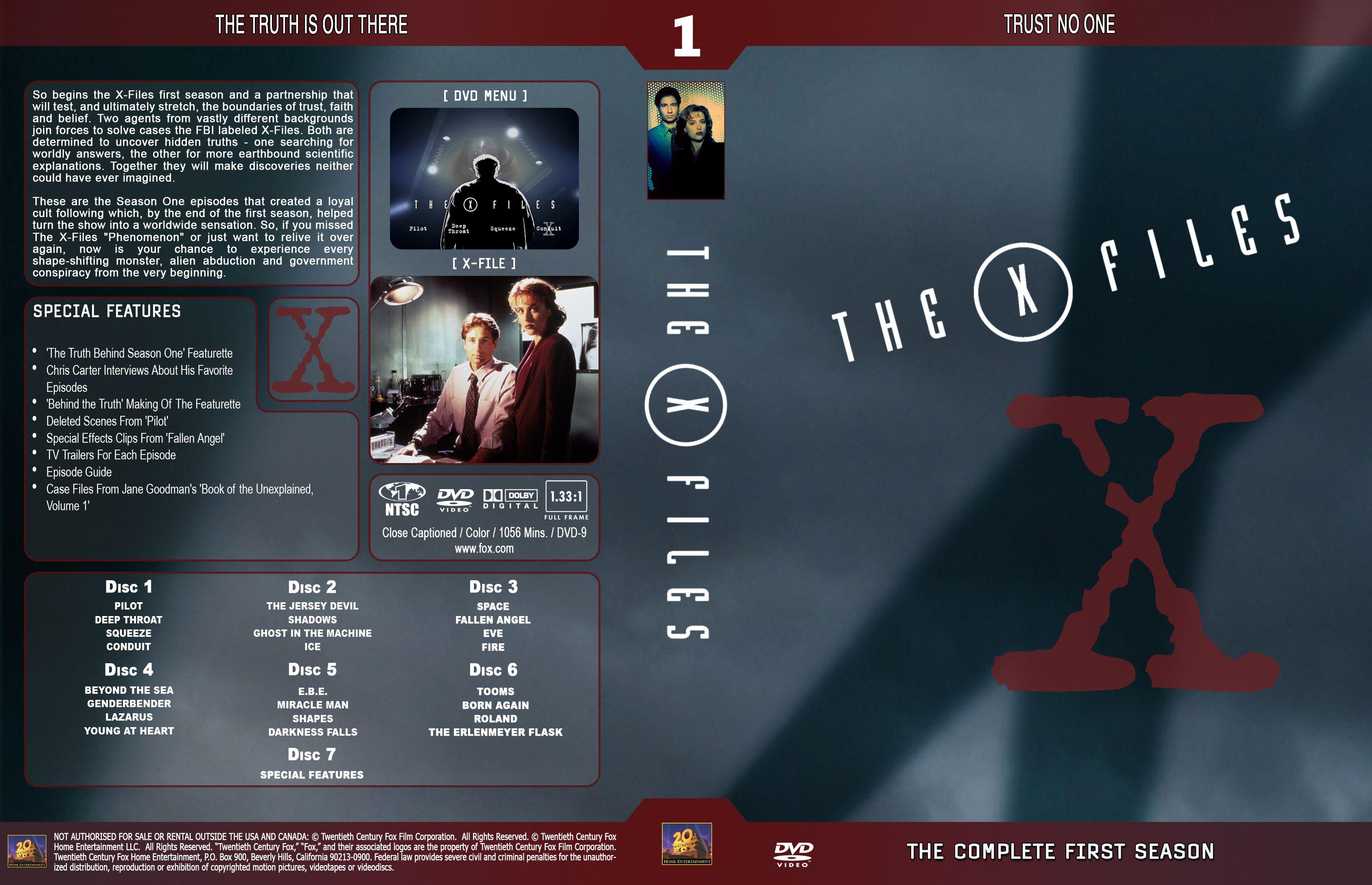 X-files season 4 volume 1.