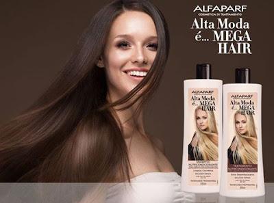Mega Hair Shampoo e Condicionador  Alta Moda eu testei...