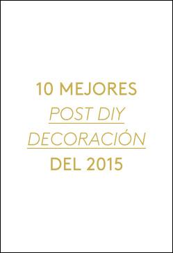 10 mejores post diy decoración