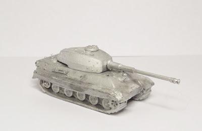 GR103    Tiger II, Henschel turret