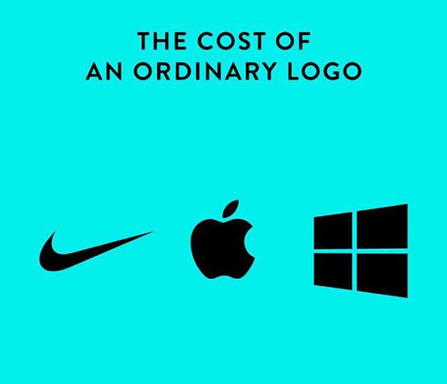 Nike, Apple and Windows Logo