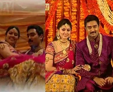 Sneha Marriage Reception Photos