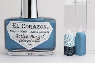 "El Corazon ""423/37"" (Prisma collection), スタンピングネイル"