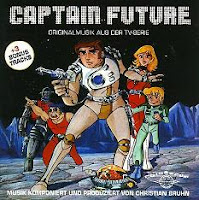 Captain Future zene CD Christian Burn